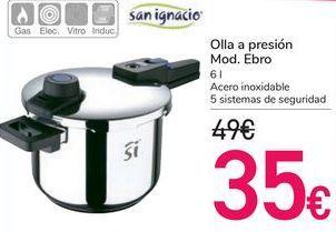 Oferta de Olla a presión Mod.Ebro San Ignacio  por 35€