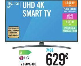 Oferta de TV 65UM7400 LG por 629€