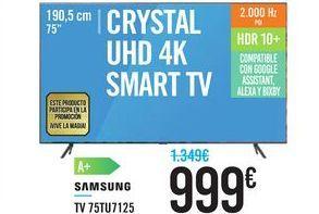 Oferta de TV 75TU7125 SAMSUNG por 999€