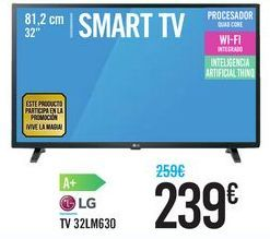 Oferta de TV 32LM630 LG por 239鈧�