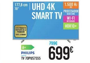 Oferta de TV 70PUS7555 PHILIPS por 699€
