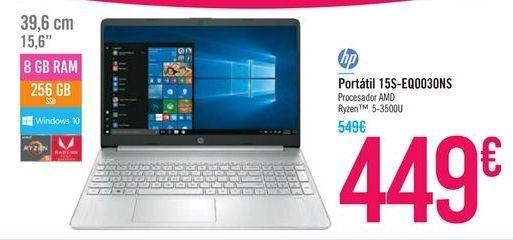Oferta de Portátil 15S-EQ0030NS HP por 449€