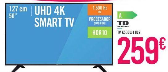 Oferta de TV K50DLJ11US TD SYSTEMS por 259€