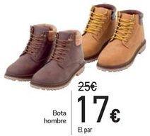 Oferta de Bota hombre por 17€