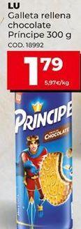 Oferta de Galletas rellenas de chocolate Príncipe por 1,79€