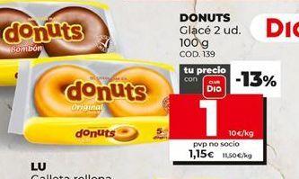 Oferta de Donuts Donuts por 1€