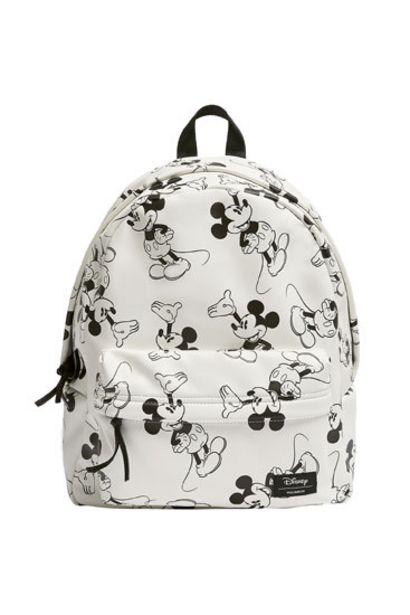 Oferta de Mochila Mickey Mouse blanca por 29,99€