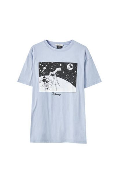 Oferta de Camiseta Mickey Mouse telescopio por 12,99€