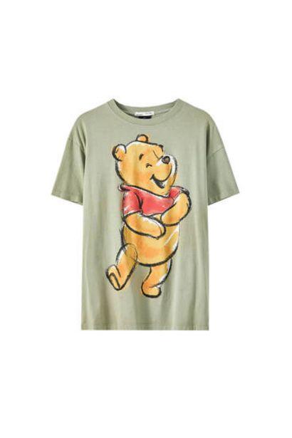 Oferta de Camiseta ilustración Winnie the Pooh por 15,99€