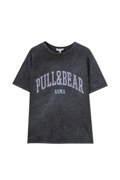 Oferta de Camiseta Pull&Bear Roma por 12,99€