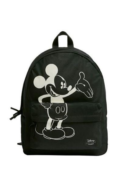 Oferta de Mochila Mickey Mouse negra por 25,99€