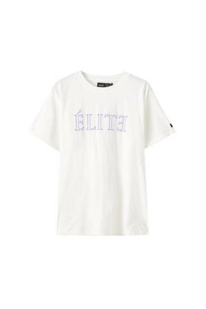 Oferta de Camiseta Élite x Pull&Bear nombres por 5,99€