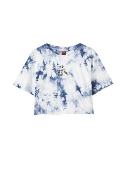 Oferta de Camiseta Snoopy tie-dye por 12,99€