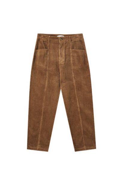 Oferta de Pantalón pana detalle bolsillos por 22,99€