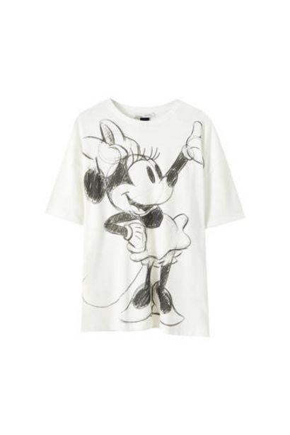 Oferta de Camiseta blanca Minnie Mouse por 15,99€