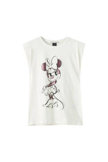 Oferta de Camiseta Minnie Mouse hombreras por 15,99€