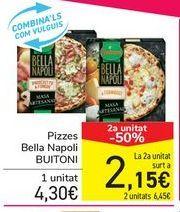 Oferta de Pizzas Bella Napoli BUITONI por 4,3€