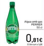 Oferta de Agua con gas Perrier por 0,81€