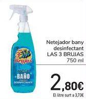Oferta de Limpiador baño desinfectante LAS 3 BRUJAS  por 2,8€