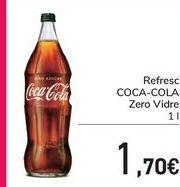 Oferta de COCA-COLA Zero Vidrio  por 1,7€