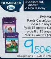 Oferta de Pyjama Pants Carrefour  por 9,5€