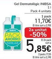 Oferta de Gel Dematológico INIBSA por 11,7€