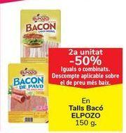 Oferta de En Lonchas Bacon ELPOZO por