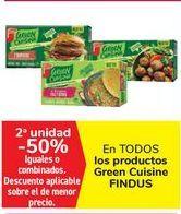 Oferta de En TODOS los productos Green Cuisine FINDUS por