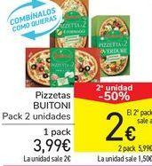 Oferta de Pizzetas BUITONI por 3,99€