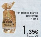 Oferta de Pan rústico blanco Carrefour  por 1,35€