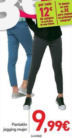 Oferta de Pantalón legging mujer  por 9,99€
