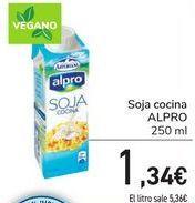 Oferta de Soja cocina ALPRO por 1,34€