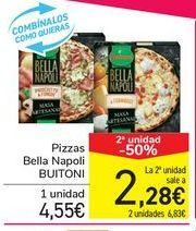 Oferta de Pizzas Bella Napoli BUITONI por 4,55€