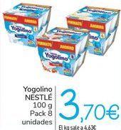 Oferta de Yogolino NESTLÉ por 3,7€