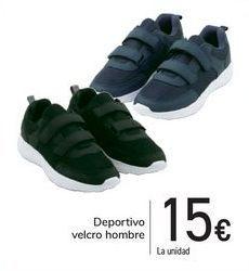 Oferta de Deportivo velcro hombre  por 15€