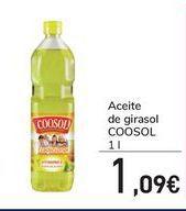 Oferta de Aceite de girasol COOSOL por 1,09€