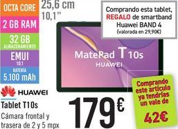 Oferta de Tablet T10S HUAWEI por 179鈧�