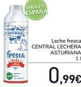 Oferta de Leche fresca CENTRAL LECHERA ASTURIANA  por 0,99€
