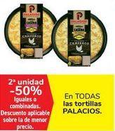 Oferta de En TODAS las tortillas PALACIOS por