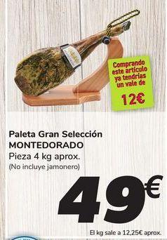 Oferta de Paleta Gran Selección MONTEDORADO por 49€