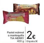 Oferta de Pastel mármol o mantequilla TIA MERRY  por 2€