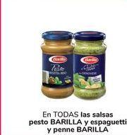 Oferta de En TODAS las salsas pesto BARILLA y espaguetti y penne BARILLA por