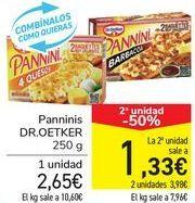Oferta de Panninis DR.OETKER por 2,65€