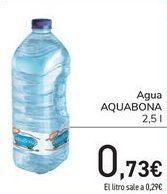 Oferta de Agua Aquabona por 0,73€