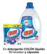 Oferta de En detergente COLÓN Líquido y cápsulas  por