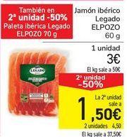 Oferta de Jamón ibérico Legado ELPOZO por 3€