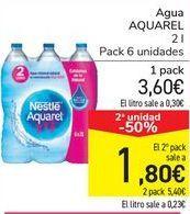 Oferta de Agua Aquarel por 3,6€