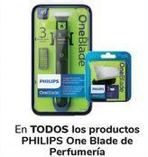 Oferta de En TODOS los productos PHILIPS One Blade de Perfumería  por