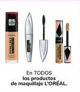 Oferta de En TODOS los productos de maquillaje L'ORÉAL por