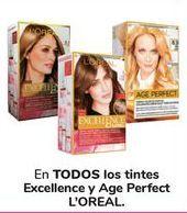 Oferta de En TODOS los tintes Excellence y Age Perfect L'ORÉAL por